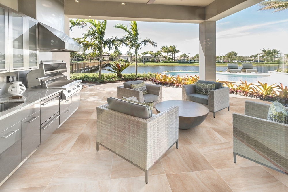 Summer Series: Outdoor Tile That Stays Cool